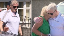 Grandfather nicknamed 'Teflon Man' after surviving coronavirus is welcomed home