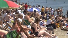 Thousands flocked to Southend beach during hot weather earlier in the month