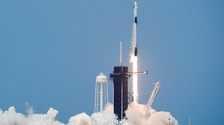 SpaceX and NASA launch astronauts into space