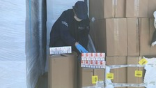 Eight million illicit cigarettes seized in Newry raid