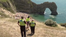 Local anger over influx of visitors to Dorset coast