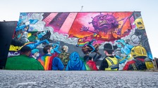 Impressive mural in Digbeth honours key workers fighting coronavirus