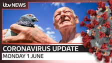 Coronavirus latest: Your daily one-minute update from ITV News