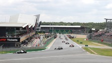The British Grand Prix at Silverstone.