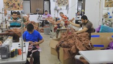 Gaza's garment industry boosted by virus and demand from Israel