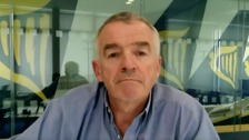 Ryanair boss O'Leary: UK's 14-day quarantine plan 'useless'