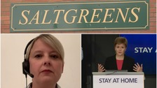 Sturgeon and Haslam's bitter clash over care home deaths