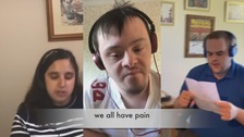Group for young people with learning disabilities come together through song