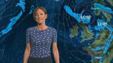 Wales Weather: Showers for a time this evening!