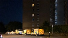Police investigate death of man after reports of fall from building