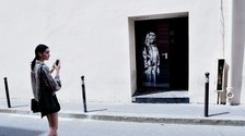 The Banksy mural, stolen in 2019, has been found in Italy.
