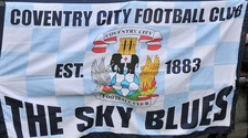 Coventry City FC flag