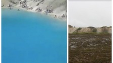Animal muck spread round notorious Blue Lagoon to stop day trippers