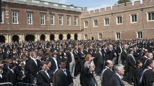 Eton College's headmaster has reportedly apologised to a black former pupil for the racism he suffered during his time at the school.