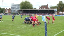 Bedford Blues in action at Goldington Road.