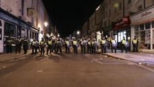 Police attacked by partygoers at illegal music event in Notting Hill