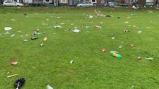 Anger over litter louts trashing beauty spots