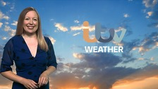 Sunny spells and isolated light showers