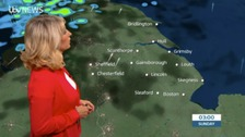 Emma Jesson has the weekend forecast