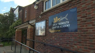 Outside of the Great Yarmouth Charter Academy