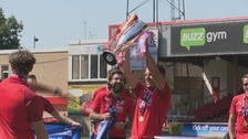 Swindon get hands on League Two trophy