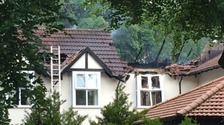 Six people were taken to hospital after the fire broke out at Croft House Care Home on Friday.