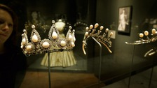 The Roseberry Pearl and Diamond Tiara that was given to Hannah De Rothschild as a wedding present in 1878