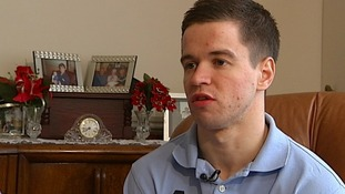 Sam Hallam speaks exclusively to ITV London Tonight