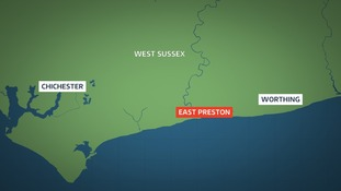 Map of East Preston