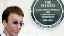 The Bee Gees front man