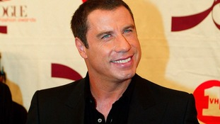 John Travolta pays tribute to Robin Gibb who died today