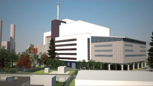 The proposed waste incinerator