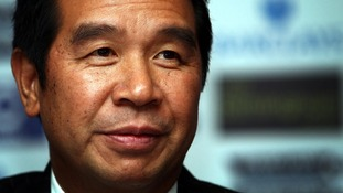 File photo of Birmingham City Football Club owner Carson Yeung.