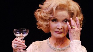 Kate O'Mara appeared as Marlene Dietrich in the play Lunch With Marlene.