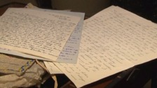 Love letters sent between a couple from Stockton-on-Tee and Carlisle.