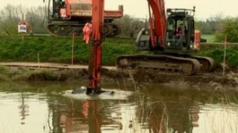 Relief for residents as dredging of Somerset Levels begins