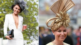 Aintree Racecourse was a scene of fabulous hats and handbags.