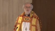 The Archbishop of Canterbury.