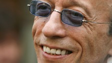 late Bee Gees star Robin Gibb
