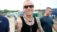 Keith Flint of The Prodigy due to perform tonight