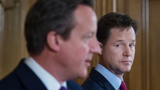 Lib Dems and Tories increasingly uneasy sharing the same 'coalition bedroom'
