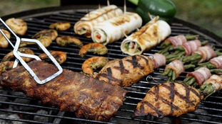How to cook chicken on a BBQ.