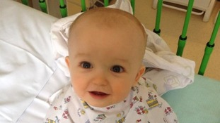 Jacob Davis was just 10 months old when he donated his bone marrow to his sister Seren-Rose.