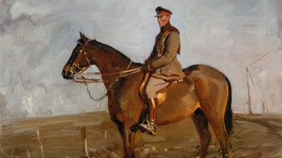 General Jack Seely and Warrior by Sir Alfred Munnings.