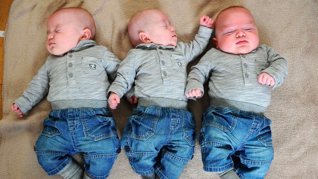 meet the miracle triplets wales itv news