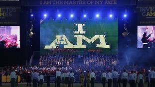 The opening ceremony of the Invictus Games