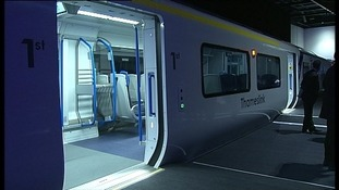 A new Thameslink train