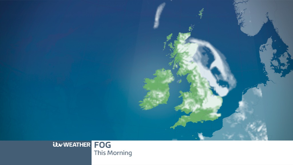 Central Weather More Dense Fog Patches Forecast Central Itv News