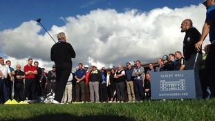 Colin Montgomerie is sharing his experiences with North East golfers at Slaley Hall