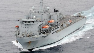 RFA Argus will support Britain's response in Sierra Leone